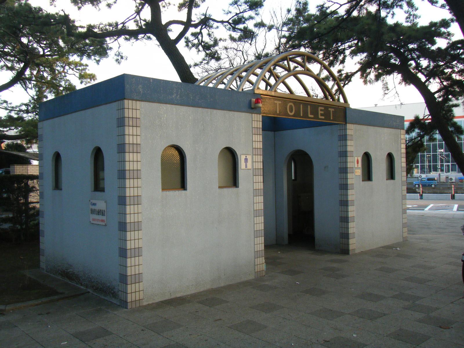 沼津港 トイレ