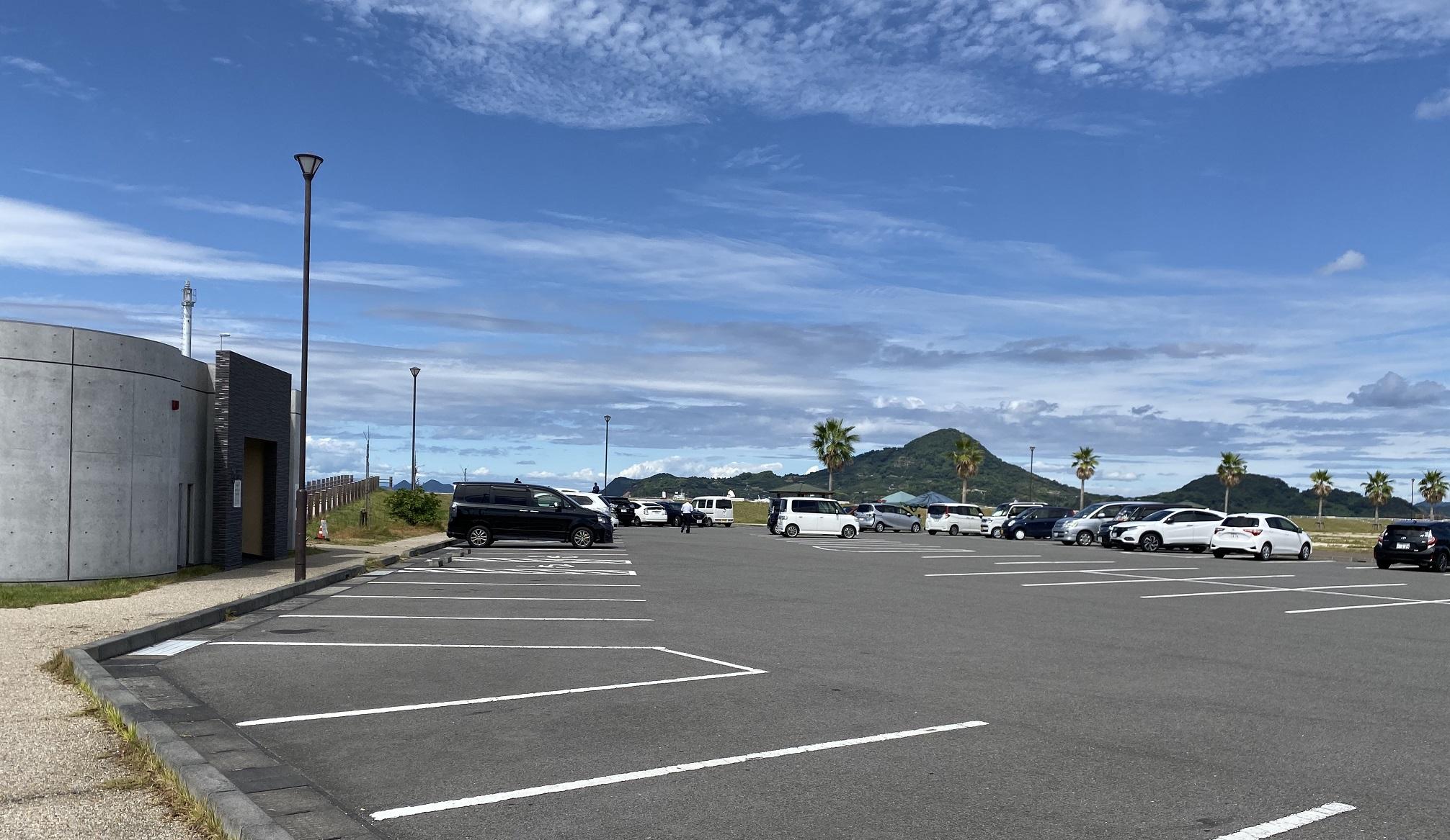 大可賀釣り公園 駐車場