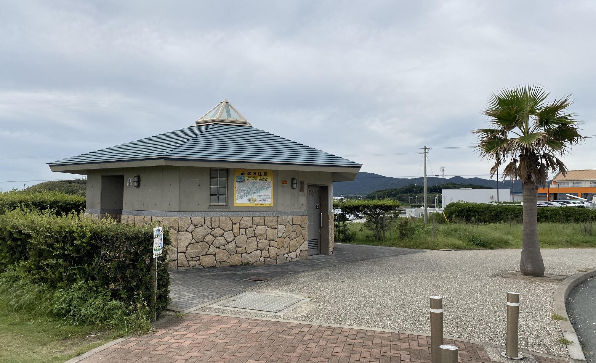 赤羽根港 トイレ