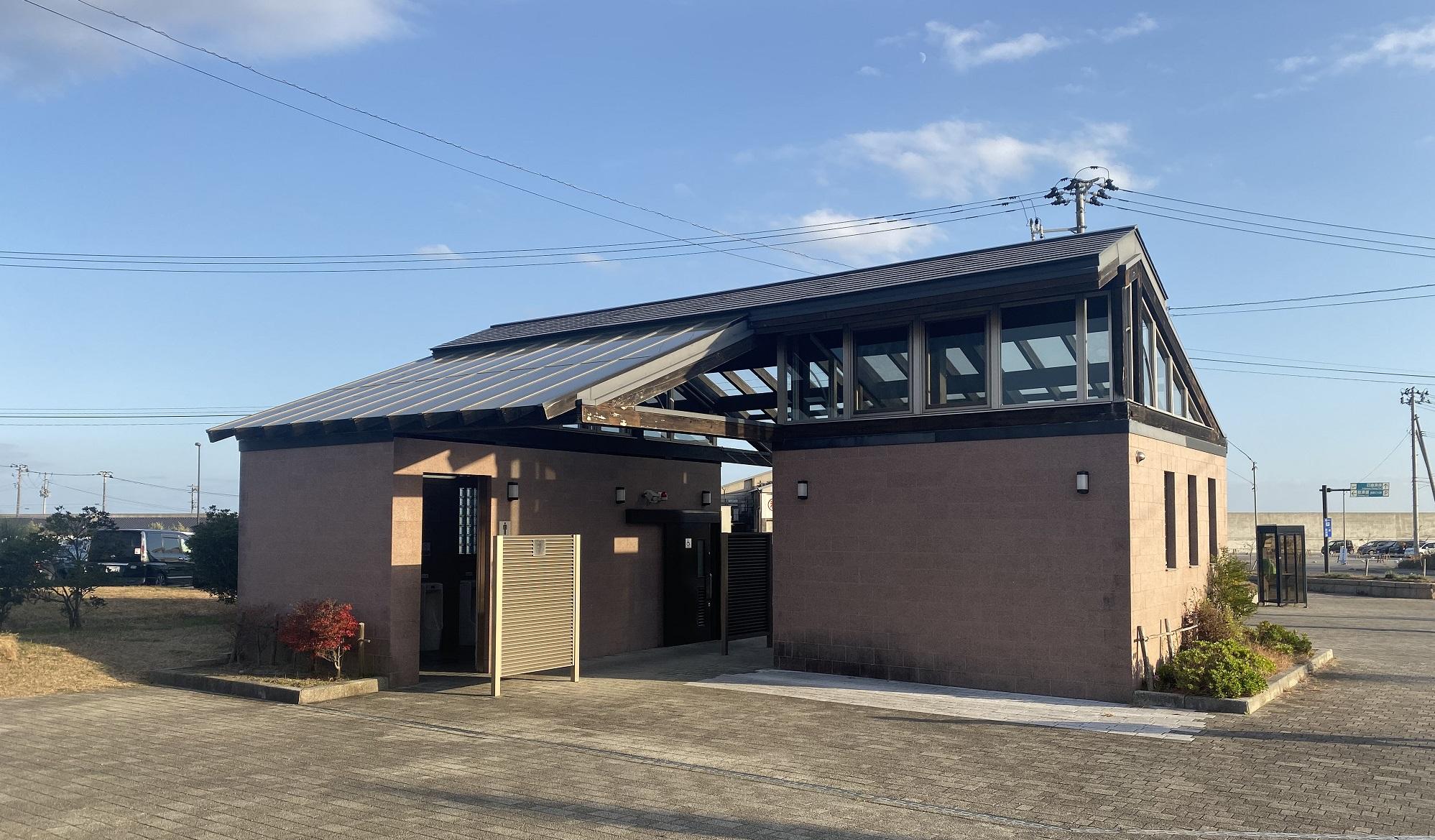 四倉漁港 トイレ