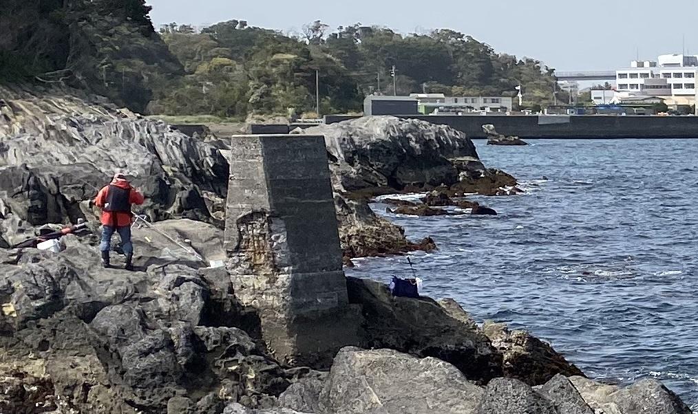 城ヶ島潮見石碑