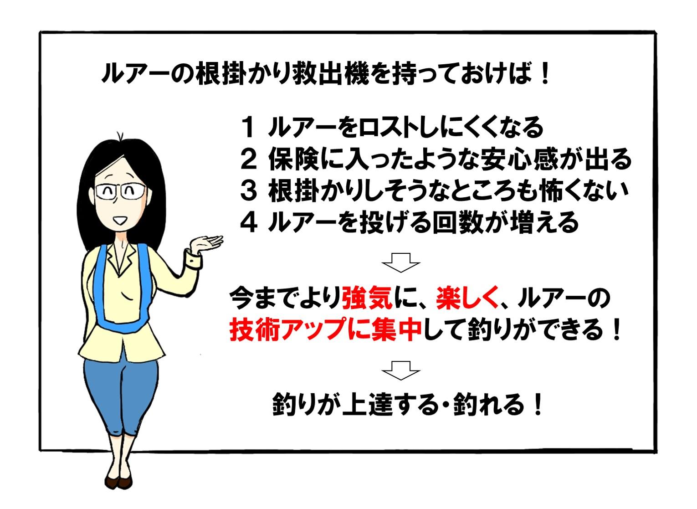 根掛かりルアー救出回収方法解説03