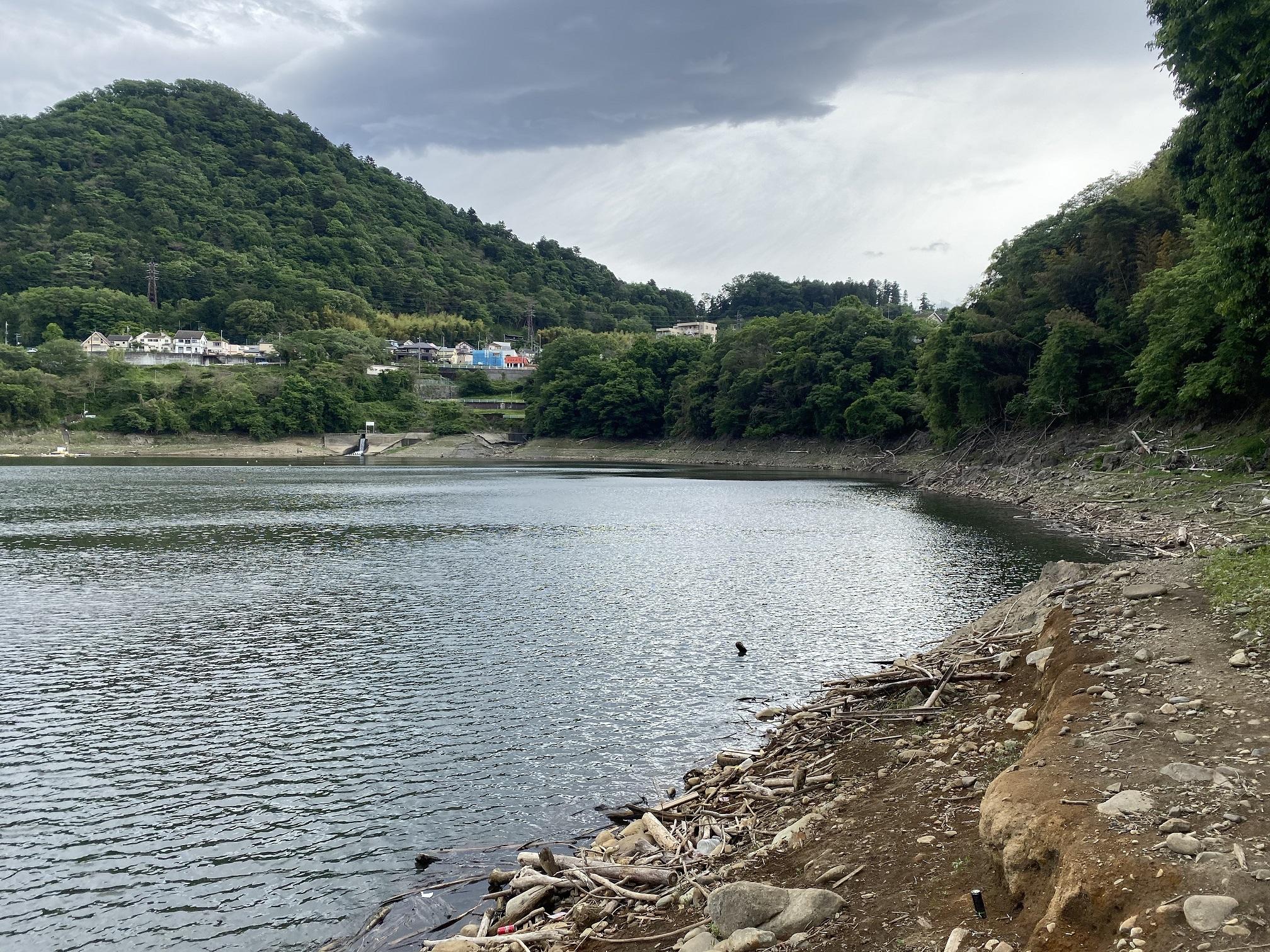津久井湖 中村ボート横02
