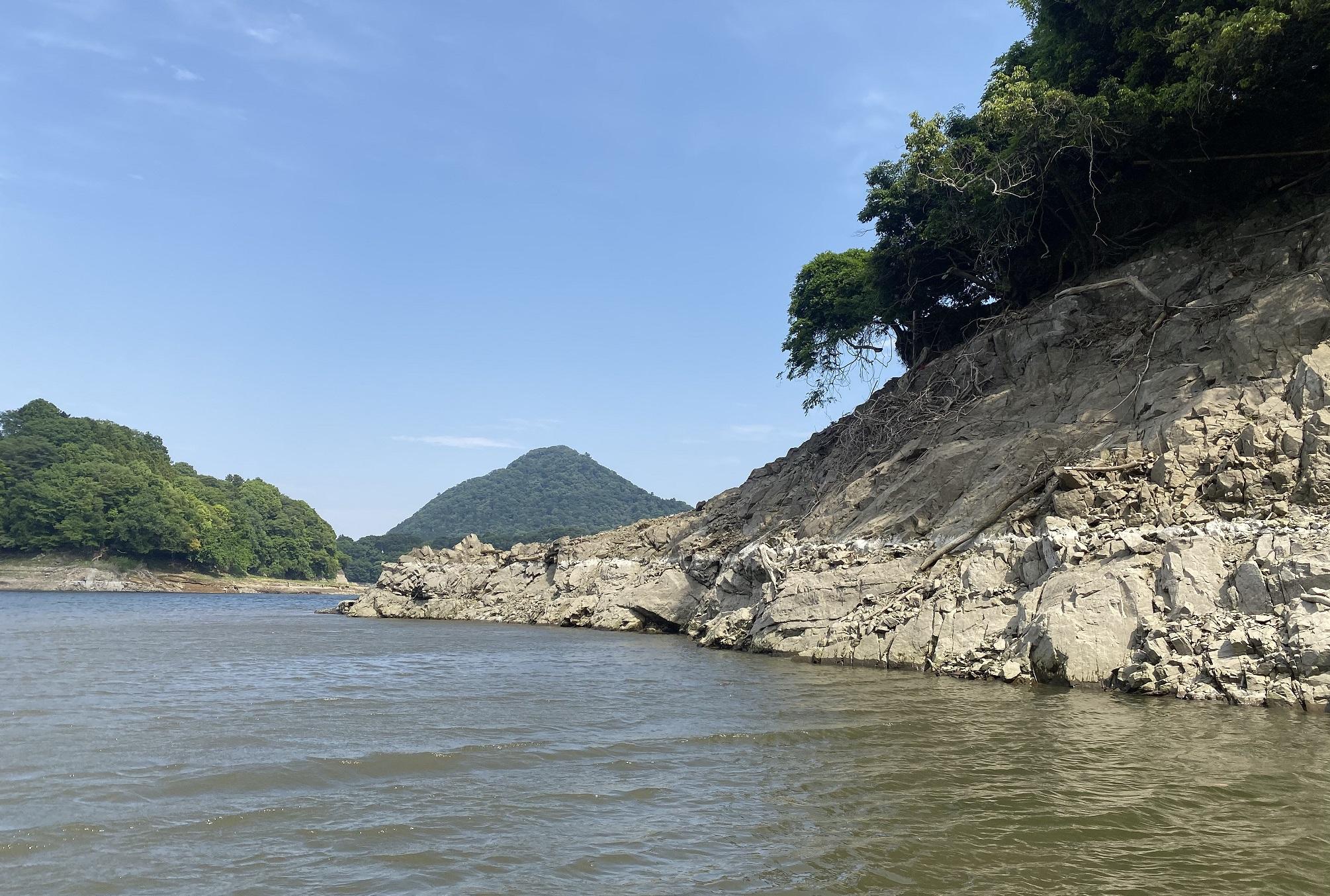 津久井湖 4番岬