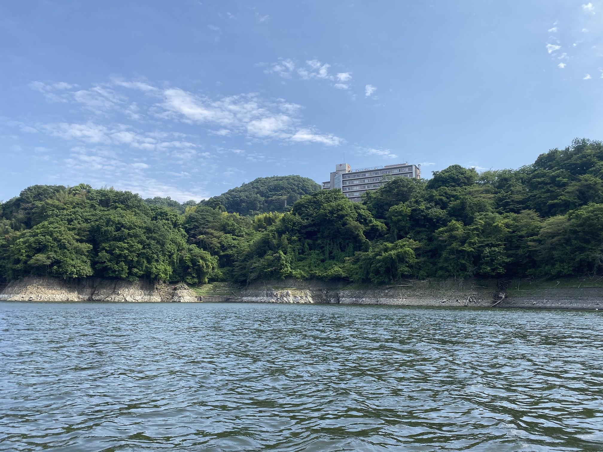 津久井湖 バス釣り 日赤下 全景