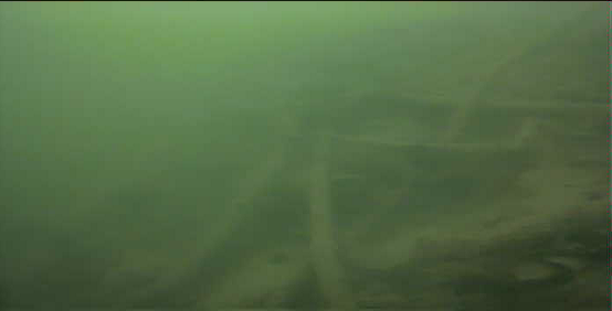 津久井湖 バス釣り 4番岬 水中映像