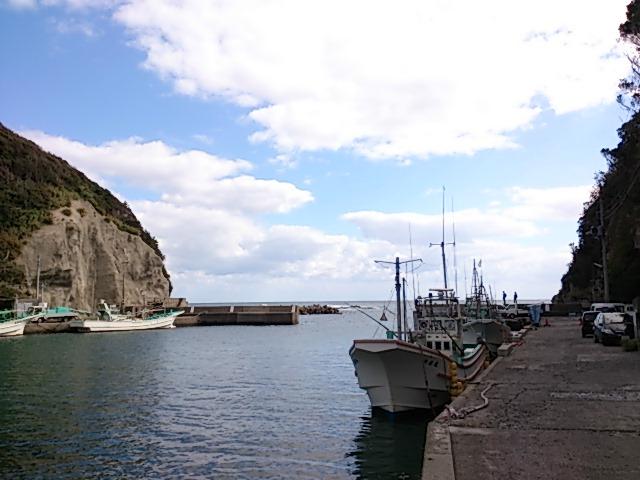 千葉県の釣りスポットガイド 鵜原なげり港